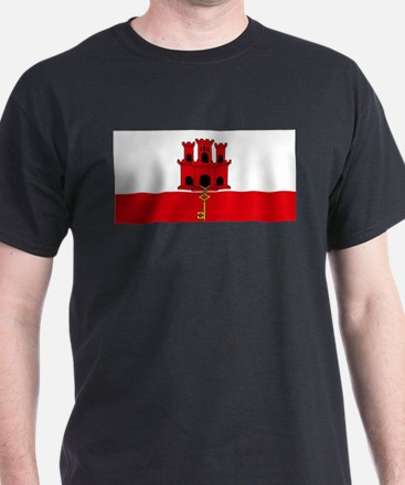 Flag Of Gibraltar T-Shirt