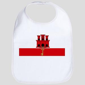 Flag Of Gibraltar Bib