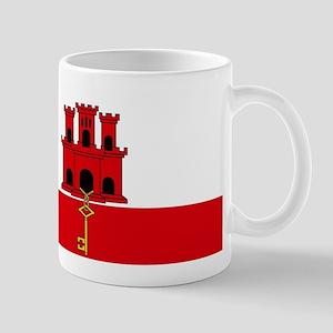 Flag Of Gibraltar Mugs