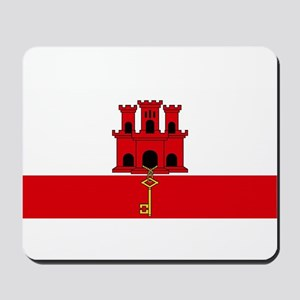 Flag Of Gibraltar Mousepad