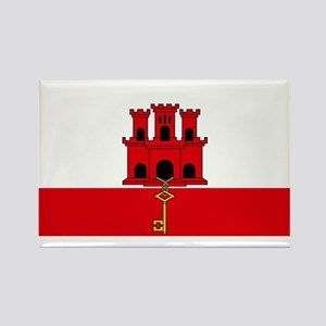 Flag Of Gibraltar Magnets