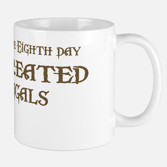 God Created Bengals Mug