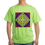 275eor grometrik.. Green T-Shirt