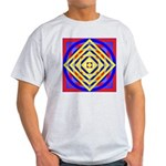 275eor grometrik.. Ash Grey T-Shirt