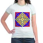 275eor grometrik.. Jr. Ringer T-Shirt