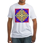 275eor grometrik.. Fitted T-Shirt