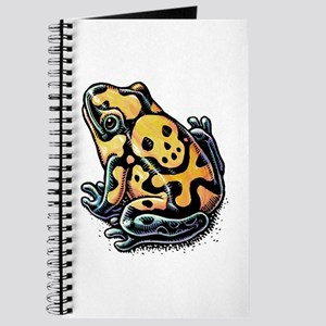 Poisonous Frog With Skull And Crossbones Journal