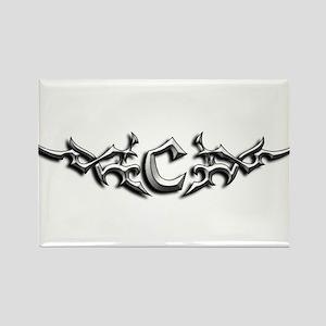 tatoo Rectangle Magnet