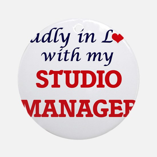 Madly in love with my Studio Manage Round Ornament