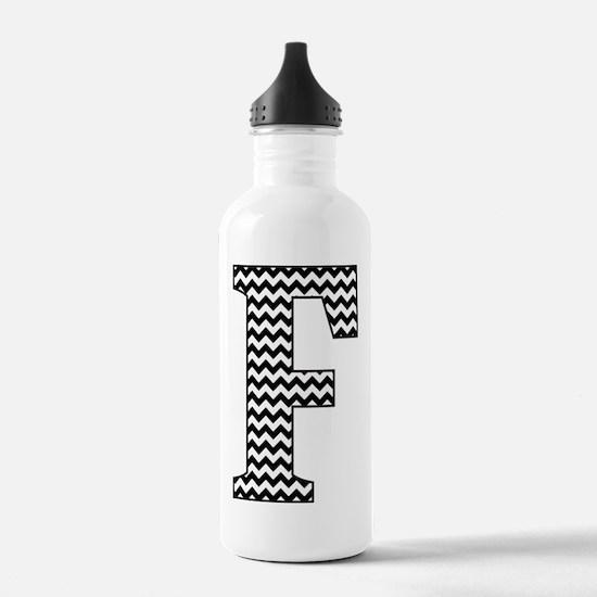 Unique Letter f Water Bottle