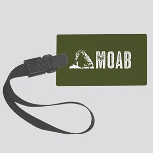 Moab, Utah: Delicate Arch Large Luggage Tag