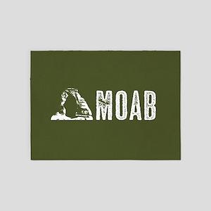 Moab, Utah: Delicate Arch 5'x7'Area Rug