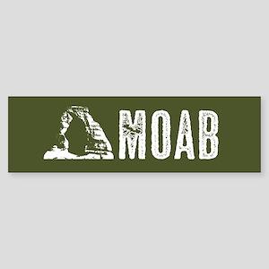 Moab, Utah: Delicate Arch Sticker (Bumper)