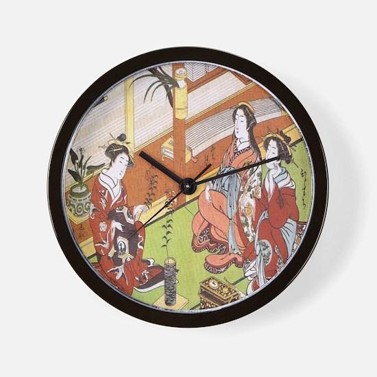 IKEBANA-CLASSICAL SEIKA ISSHU Wall Clock