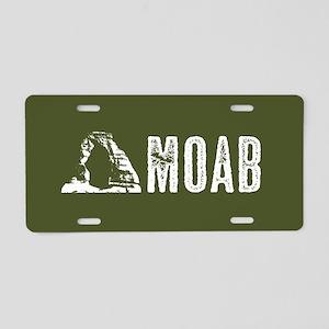 Moab, Utah: Delicate Arch Aluminum License Plate