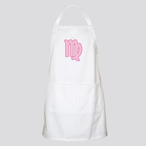 Pink Zodiac Virgo BBQ Apron