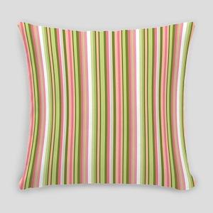 Spring Stripes Everyday Pillow