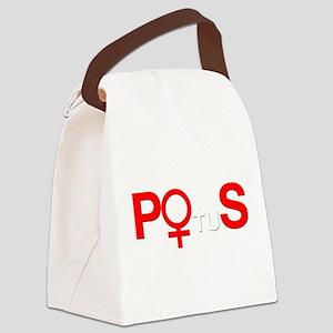 POS Potus Hillary Canvas Lunch Bag