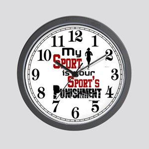 My Sport (Female) Wall Clock