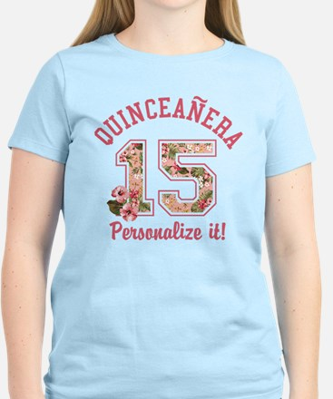 PERSONALIZED Quinceanera 15 T-Shirt