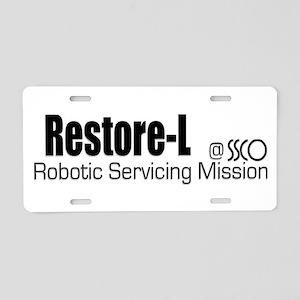 Restore-L Aluminum License Plate