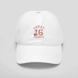 PERSONALIZED Sweet 16 Baseball Cap