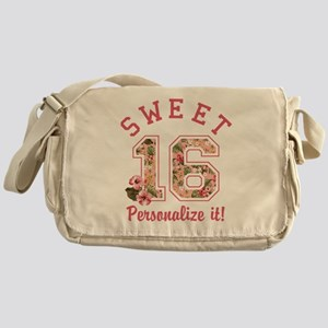PERSONALIZED Sweet 16 Messenger Bag