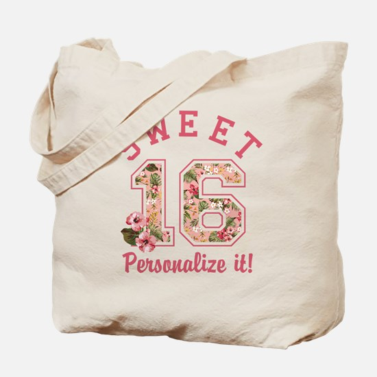 PERSONALIZED Sweet 16 Tote Bag