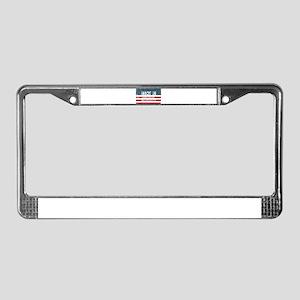 Made in Hanscom Afb, Massachus License Plate Frame