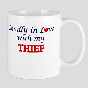 Madly in love with my Thief Mugs