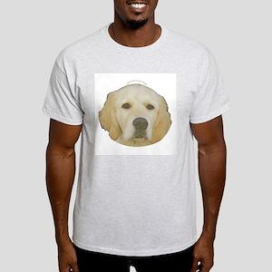 Golden Retriever Ash Grey T-Shirt
