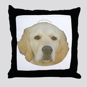 Golden Retriever Throw Pillow