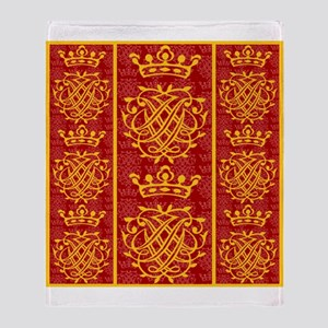 J.S. Bach Symbol Throw Blanket