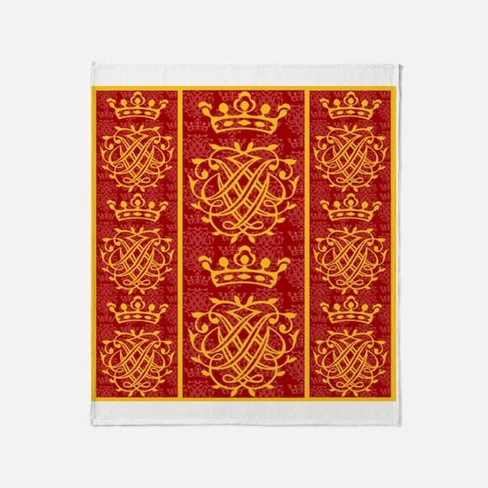 J.S. Bach Symbol Throw Blanket