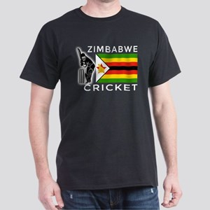 Zimbabwe Cricket Dark T-Shirt