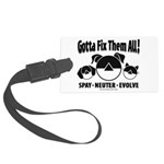 FixThemAll_Black Luggage Tag