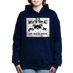 FixThemAll_Black Women's Hooded Sweatshirt