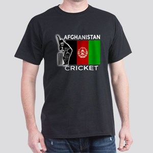 Afghanistan Cricket Dark T-Shirt