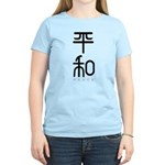 Kanji Peace Women's Light T-Shirt