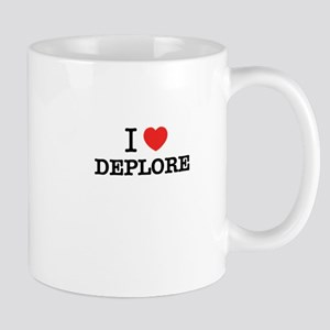 I Love DEPLORE Mugs