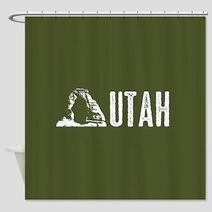 Utah: Delicate Arch Shower Curtain