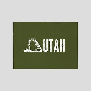 Utah: Delicate Arch 5'x7'Area Rug