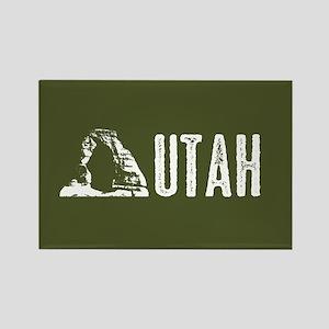 Utah: Delicate Arch Rectangle Magnet
