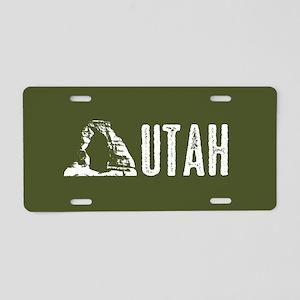 Utah: Delicate Arch Aluminum License Plate