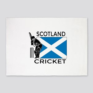 Scotland Cricket 5'x7'Area Rug
