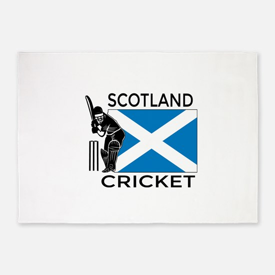 Scotland Cricket 5'x7'Area Rug