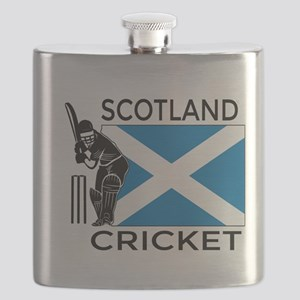 Scotland Cricket Flask