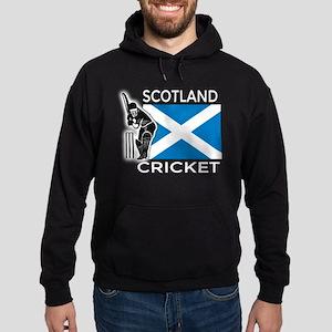 Scotland Cricket Hoodie (dark)