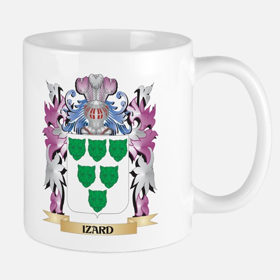 Izard Coat of Arms (Family Crest) Mugs