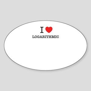 I Love LOGARITHMIC Sticker